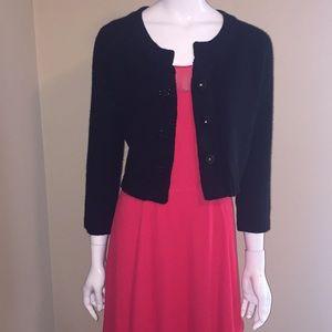 WHBM, Women black cardigan size M